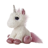 Aurora World 21246 - Dreamy Eyes Einhorn 12In/30.5 cm, weiß - 1