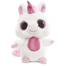 Aurora World 60336 - Yoohoo and Friends Blush Einhorn, 5 Zoll, rosa - 1