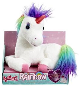 Animagic 31224.4300 - Rainbow - mein Einhorn mit Lichteffekten - 1