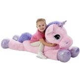 Animal Alley Pink 114,3cm Einhorn Weiches Spielzeug - 1