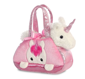 Aurora World 32795 Fancy Pal Peek-a-Boo Einhorn, Plüsch - 2