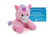 EinhornLiebe EinhornLiebe Kuscheltier Stofftier Einhorn 25cm (Pretty Pink) inkl. Adoptionszertifikat - 1