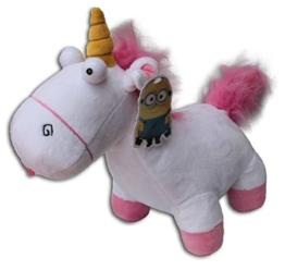 Minions Einhorn Plüsch Figur Despicable Me Unicorn weiß 25cm - 1