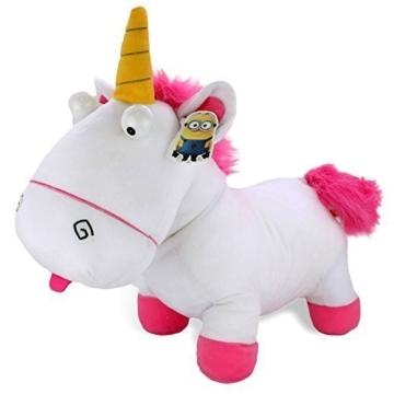 Minions Plüsch Einhorn Figur Despicable Me Unicorn 53cm weiß - 1