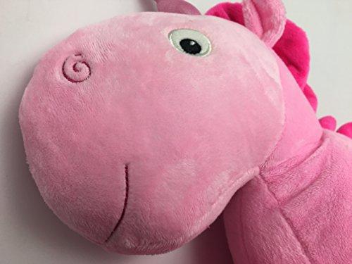Misslight Einhorn Plüschtiere Schlaf Stuffed weichem Plüsch Kissen für Baby Kind (Pink) - 3