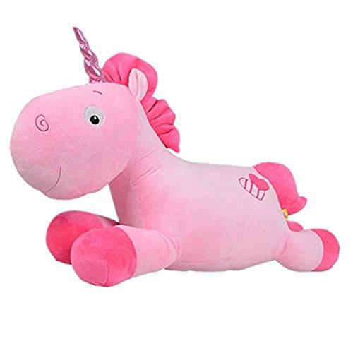 Misslight Einhorn Plüschtiere Schlaf Stuffed weichem Plüsch Kissen für Baby Kind (Pink) - 1