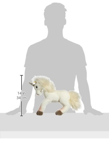 Steiff 15045 - Starly Schlenker-Einhorn, 35 cm, weiß - 2