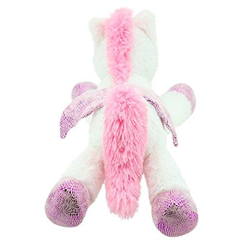 Sweety Toys 8032 Einhorn Plüschtier Kuscheltier 65 cm weiss - 5