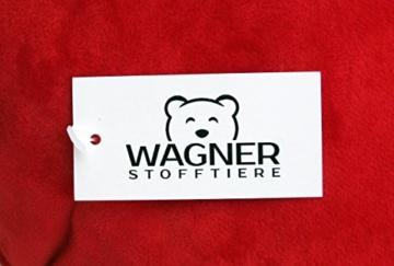 Wagner 9065 - Riesen Plüschtier XXL Plüsch Einhorn - liegend - 80 cm gross in weiss-pink - 4