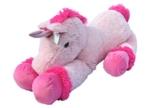 XXL Einhorn Plüschtier ca. 110 cm große Kuscheltier rosa pink Stofftier - 1