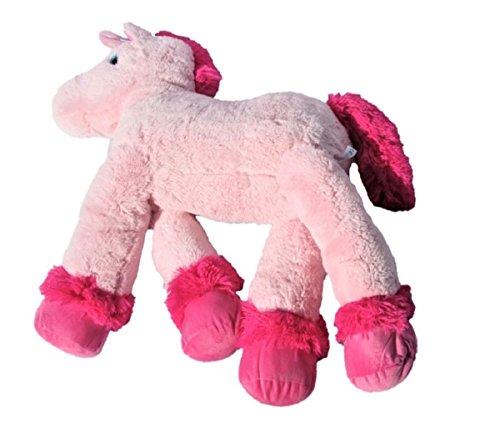 XXL Einhorn Plüschtier ca. 110 cm große Kuscheltier rosa pink Stofftier - 4