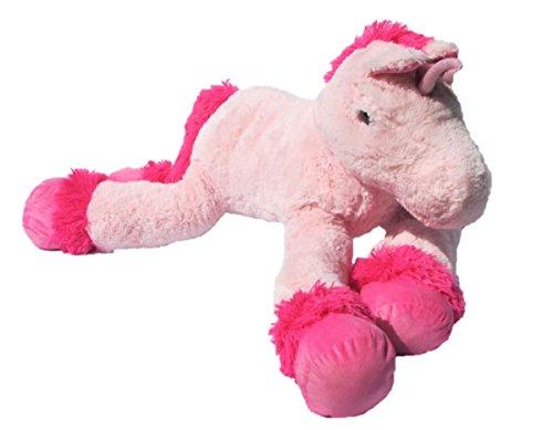 XXL Einhorn Plüschtier ca. 110 cm große Kuscheltier rosa pink Stofftier - 6