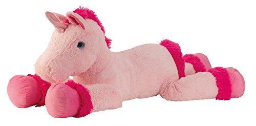XXL Einhorn Plüschtier ca. 110 cm große Kuscheltier rosa pink Stofftier - 7
