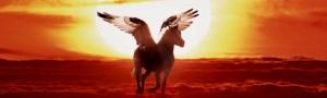 Einhorn mit Flügel - Pegasus